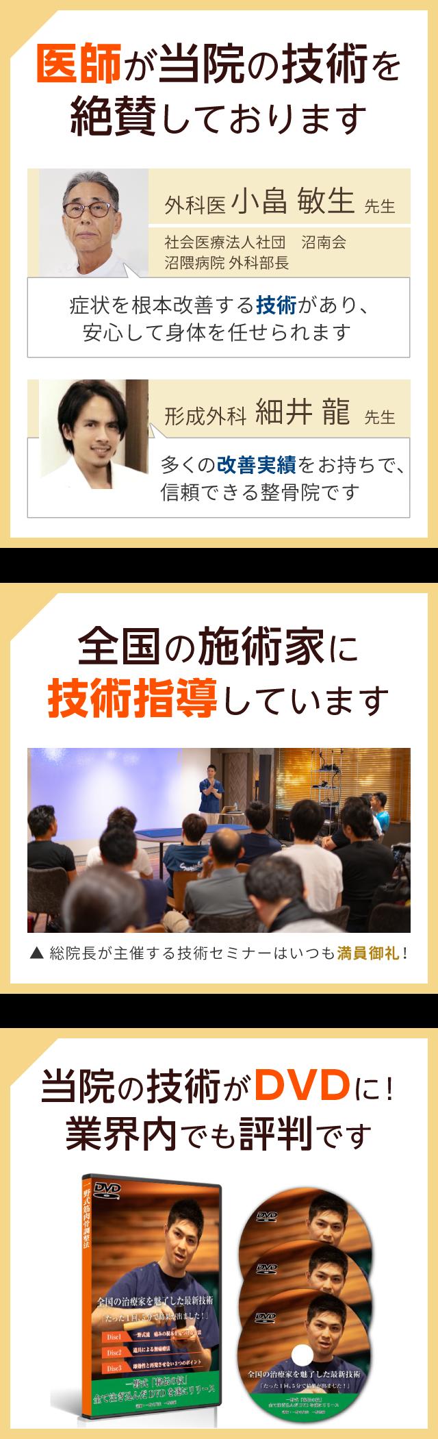 医師・技術指導・DVD